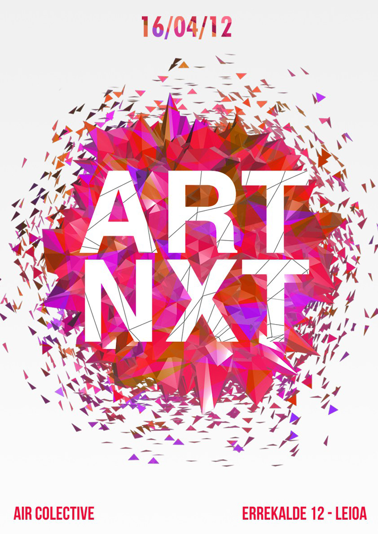 Art Next poster -diseño grafico - cartel