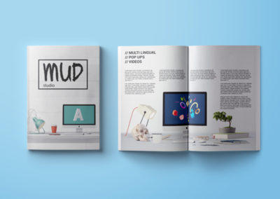 Mud studio Brochure Design